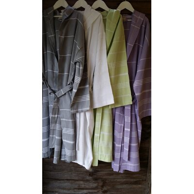 Cotton and Olive Adult Bathrobe
