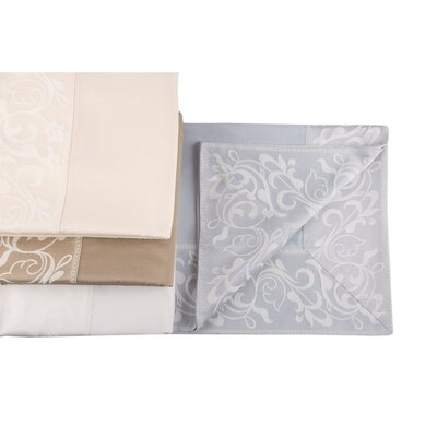 Cotton and Olive Elegance 7 Piece Dining Linen Set