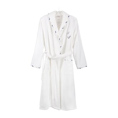 Cotton and Olive Seagull Bathrobe for Men