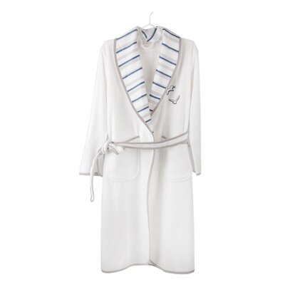 Cotton and Olive Seagull Bathrobe for Women