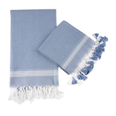 Cotton and Olive Tuana Peshtemal Bath Towel