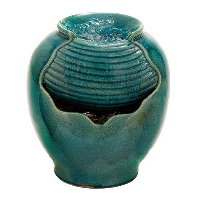 Ceramic Vase Tabletop Water Fountain