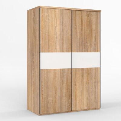 Priess Möbel Schiebetürenschrank, 211 cm H x  144 cm B x 64.5