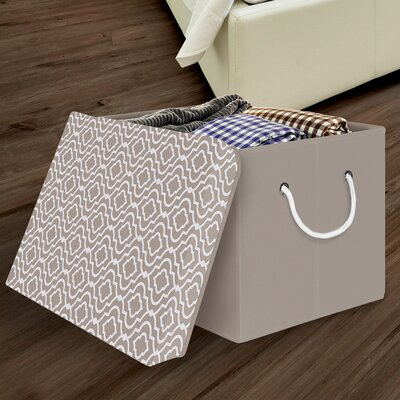 Storage Box with Removable Lid