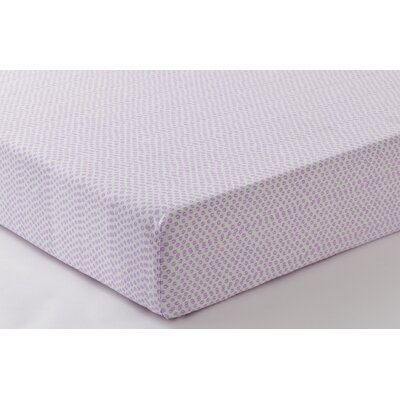 Anne De Solene Hortensia 100% Cotton Fitted Sheet