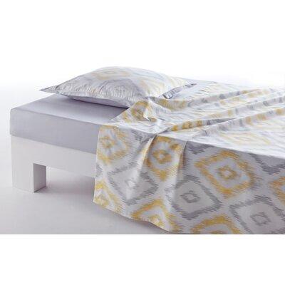 Anne De Solene Ikat 100% Cotton Bed Sheet