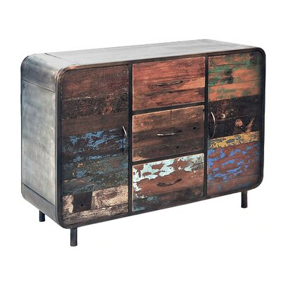 TheWoodTimes Sideboard Pied