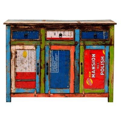 TheWoodTimes Sideboard Coloured