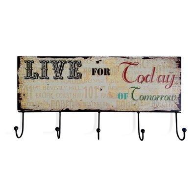 TheWoodTimes Garderobenhaken Signboard