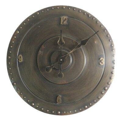 TheWoodTimes Analoge Wanduhr Shields 45 cm