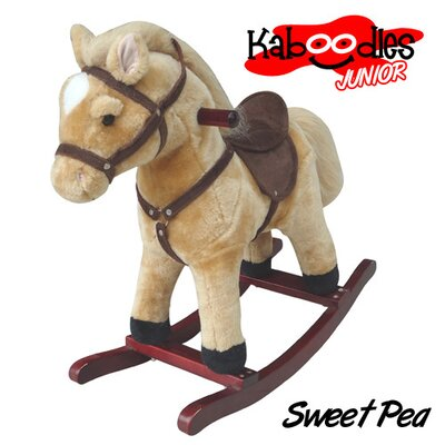 Kaboodles Junior Plush Rocking Horse Color: Sweet Pea