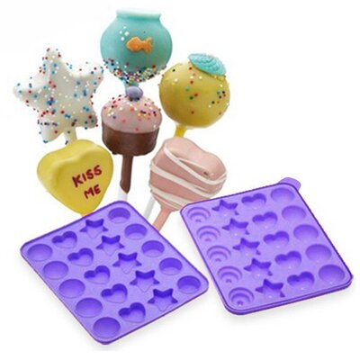 Cake Pops Shapes Instant Silicone Baking Pan