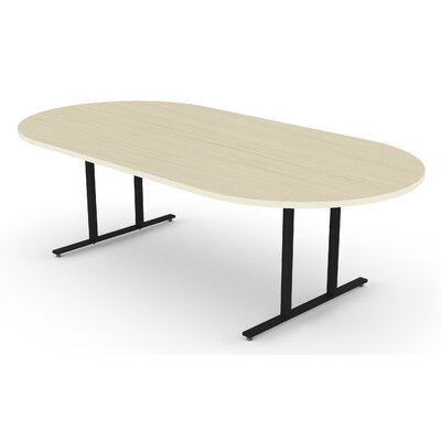 """Oval Conference Table Size: 30"""" H x 48"""" W x96"""" D"""