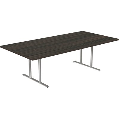 """Rectangular Conference Table Size: 30"""" H x 48"""" W x 144"""" D"""