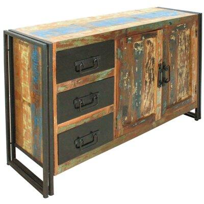 Borough Wharf Fort Jones 2 Door 3 Drawer Cabinet