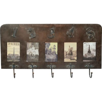 Borough Wharf Wall Mounted Coat Rack