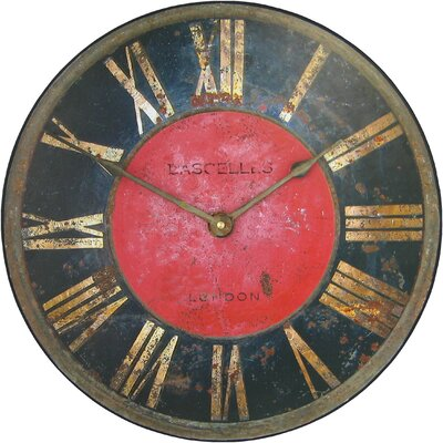 Borough Wharf 60cm Large Turret Wall Clock