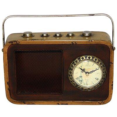 Borough Wharf Table Clock