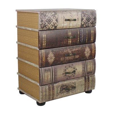 Borough Wharf Wooden Book Chest