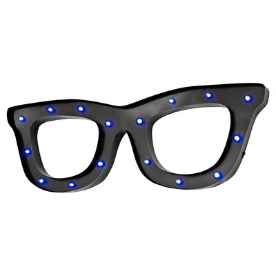 Borough Wharf LED Glasses Wall Décor