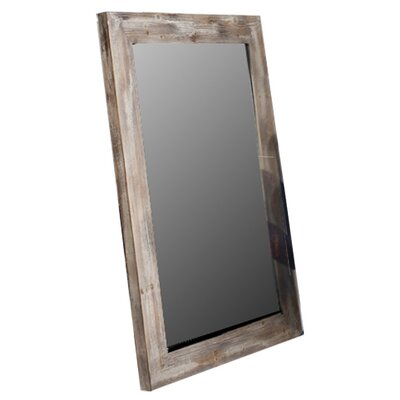 Borough Wharf Nicollet Rustic Timber Leaner Mirror