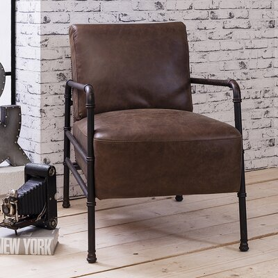 Borough Wharf Chellis Leather Armchair