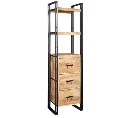 Borough Wharf Canonero Tall 200cm Standard Bookcase