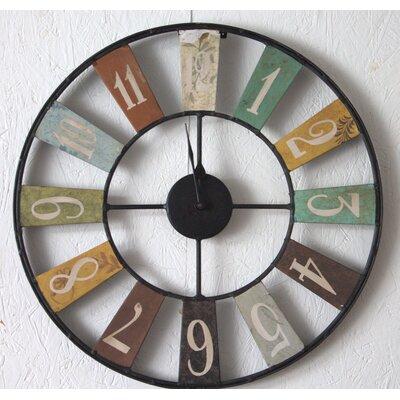 Borough Wharf Lompoc 48cm Wall Clock
