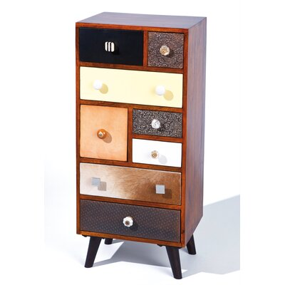 Borough Wharf Dwyce 8 Drawer Chest of Drawers