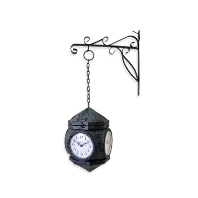 Borough Wharf 4 Faces Wall Clock