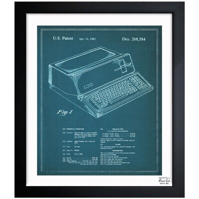 Borough Wharf 'First Apple Personal Computer, 1983' Framed Graphic Art
