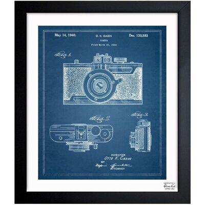 Borough Wharf 'Cazin Design For A Camera 1940' Framed Graphic Art