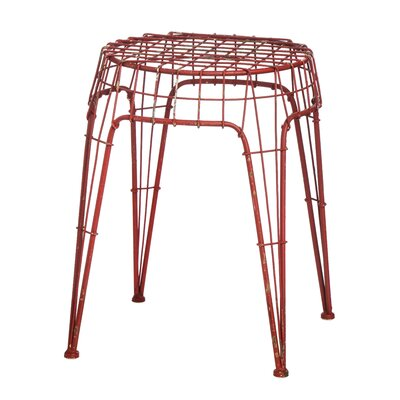 Borough Wharf Oriol Metal Decorative Stool