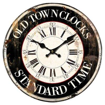 Borough Wharf 34cm Standard Time Wall Clock