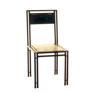 Borough Wharf Fort Jones Solid Wood Dining Chair