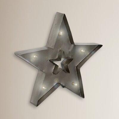 Borough Wharf Brewton Retro LED Star Sculpture