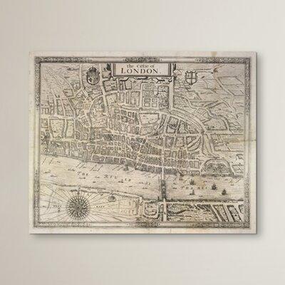 Borough Wharf The Cittie of London Framed Graphic Art