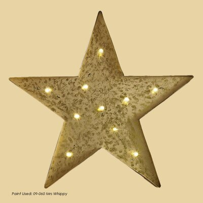 Borough Wharf Lit Star Wall Decor