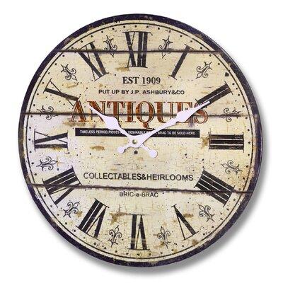 Borough Wharf Eurig 34 cm Wall Clock