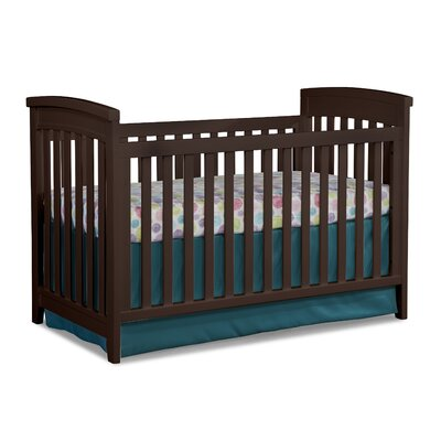 Midtown Cottage 3-in-1 Convertible Crib Color: Chocolate Mist