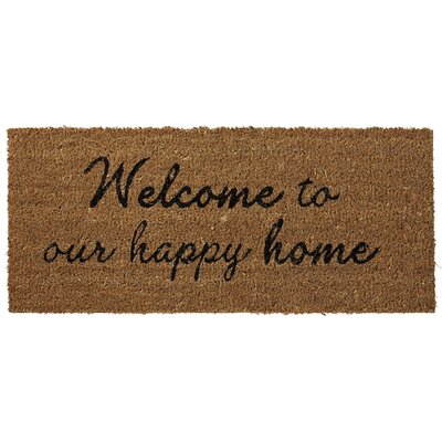 Lene Bjerre Adrea Welcome To Our Happy Home Mat