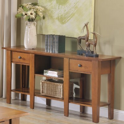 Rayburn Console Table Color: Oak