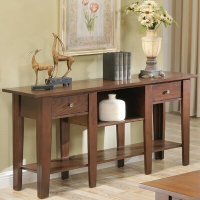 Rayburn Console Table Color: Cherry