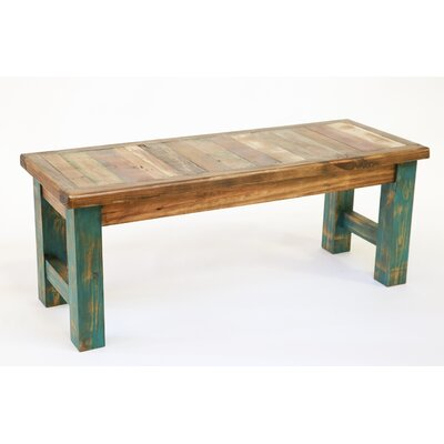Alysa Reclaimed Old Door Bench