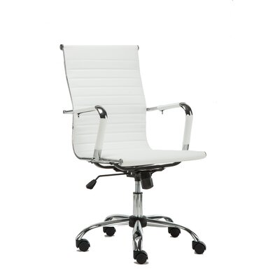 High-Back Leather Office Executive Chair