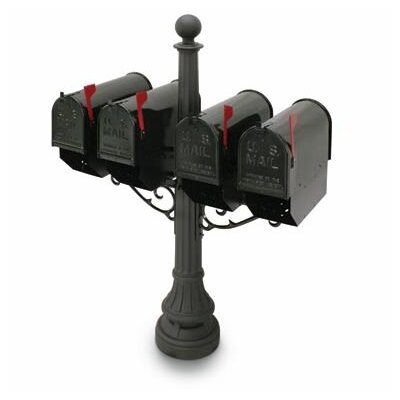 Eastport Mailbox with Post Included