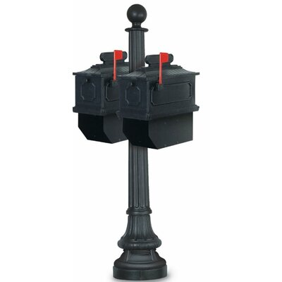 Columbus Mailbox with Post Included