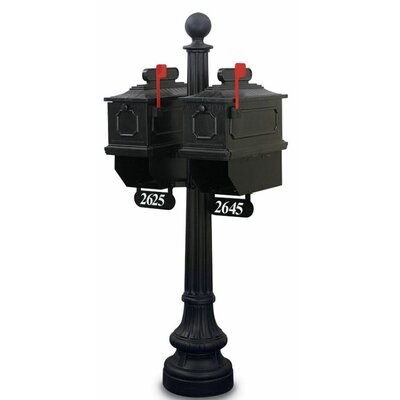Port Angeles Mailbox with Post Included