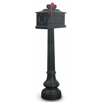 New Hampton Mailbox with Post Included