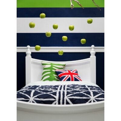 Jonah Panel Bed Color: White, Size: Twin